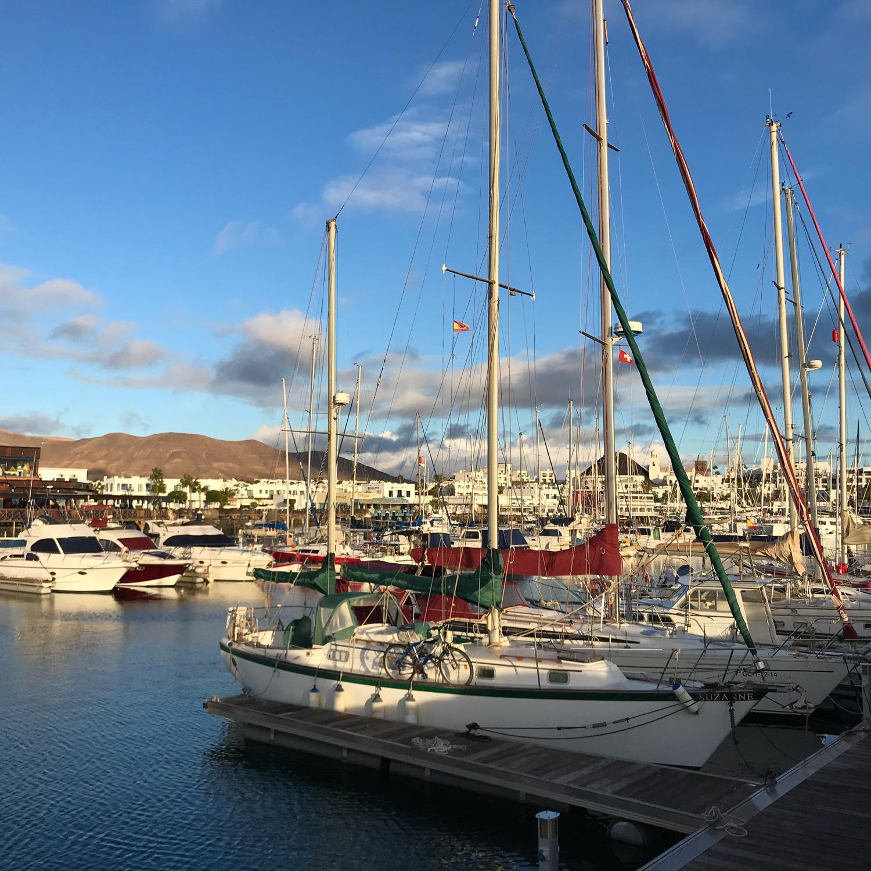 Marina Rubicon in Lanzarote Photo Heatheronhertravels.com