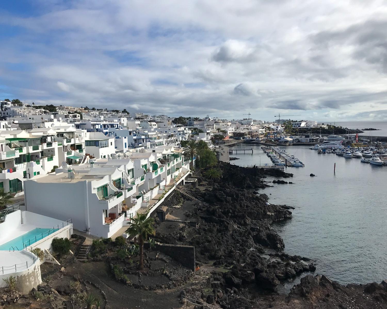 Puerto del Carmen in Lanzarote Photo Heatheronhertravels.com
