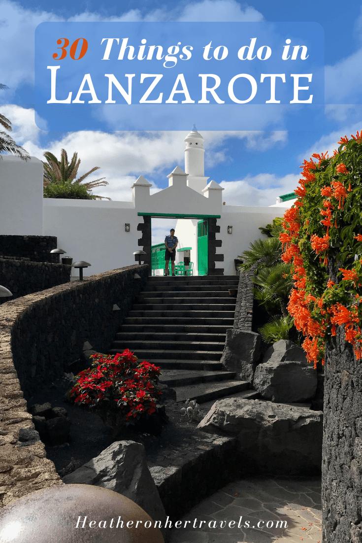 30 Things to do Lanzarote Photo Heatheronhertravels.com