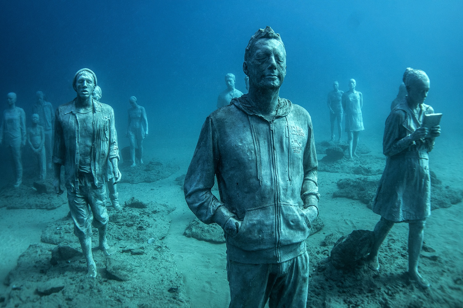 Underwater Museum Lanzarote by Jason deCaires Taylor