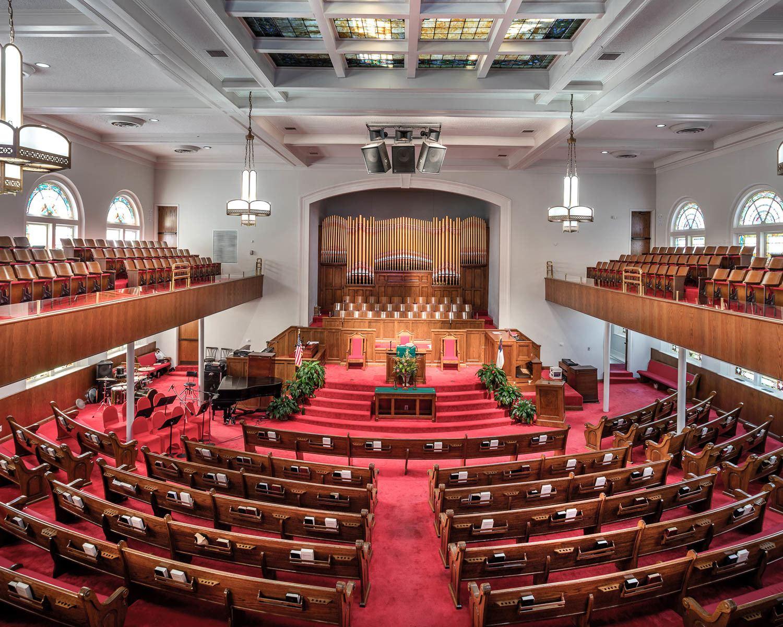 16th Street Baptist Church in Birmingham Alabama Photo Art Meripol