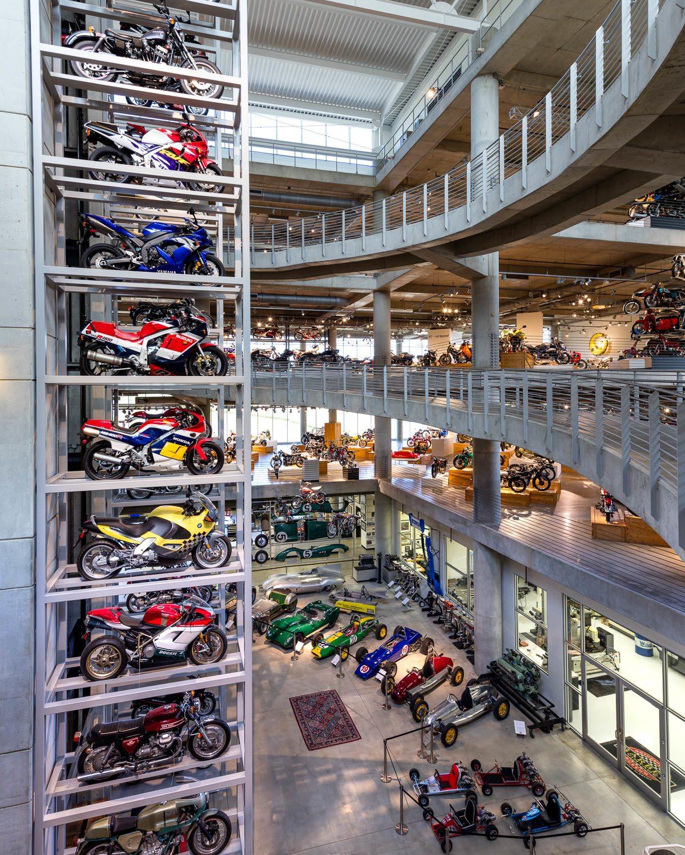 Barber Motor Sports Museum in Birmingham, Alabama For Alabama Tourism in Birmingham Alabama © Alabama Tourism Department / Art Meripol