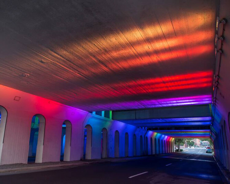 Color Tunnel in Birmingham Alabama © Alabama Tourism Department / Chris Granger