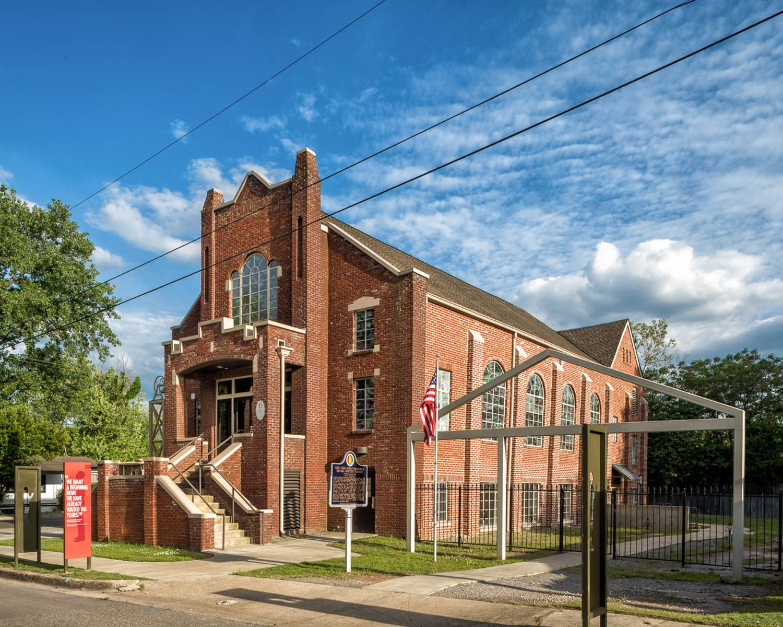 Historic Bethel Baptist Church in Birmingham, Alabama © Alabama Tourism Department / Art Meripol