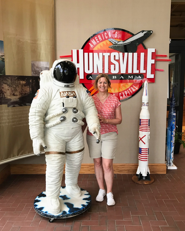 Huntsville Visitor Centre Alabama Photo: Heatheronhertravels.com