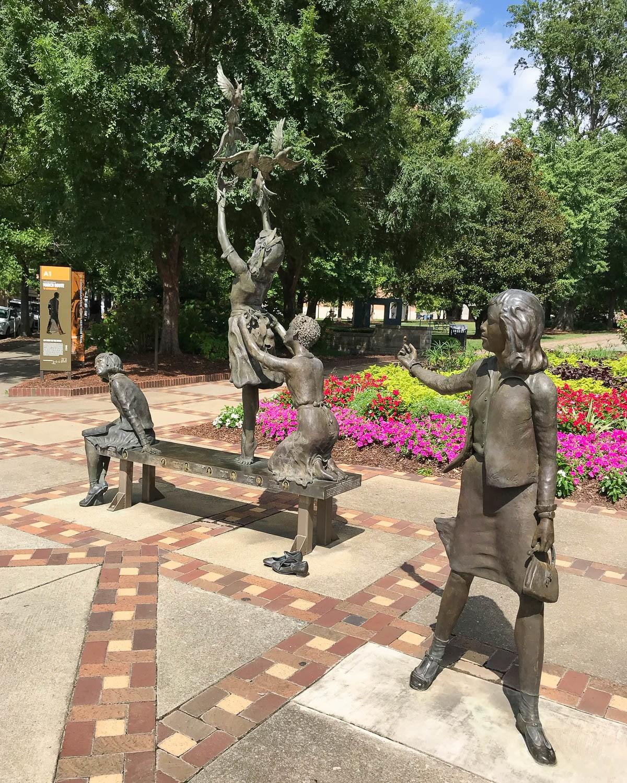 Kelly Ingram Park, Birmingham, Alabama Photo: Heatheronhertravels.com