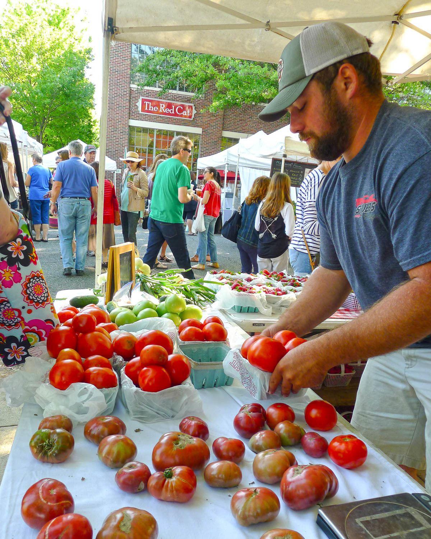 Market at Pepper Place in Birmingham Alabama