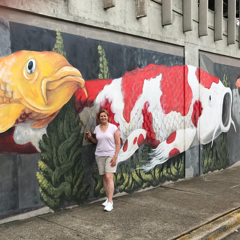Murals in Huntsville Alabama Photo: Heatheronhertravels.com