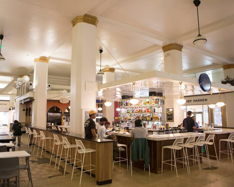 Pizitz Food Hall in Birmingham Alabama © Alabama Tourism Department / Chris Granger