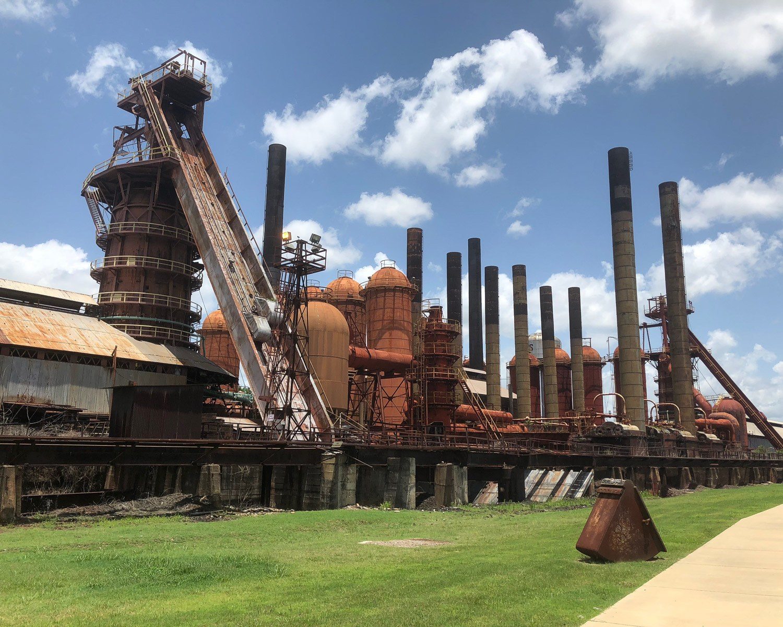 Sloss Furnaces National Historic Landmark in Birmingham Alabama