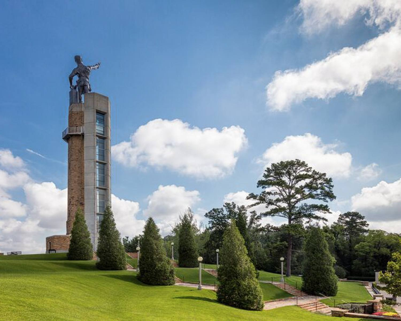 Vulcan Park and Museum in Birmingham, Alabama © Alabama Tourism Department / Art Meripol