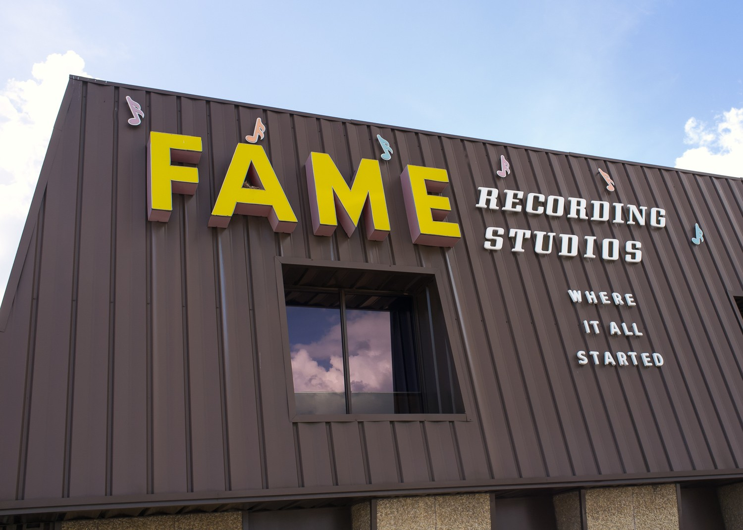 Fame Studios in Muscle Shoals Alabama Photo Ralph Daily Flickr