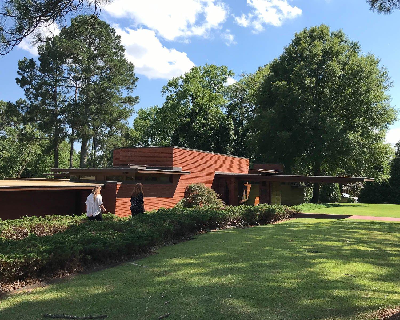 Frank Lloyd Wright Rosenbaum House Alabama Photo Heatheronhertravels.com