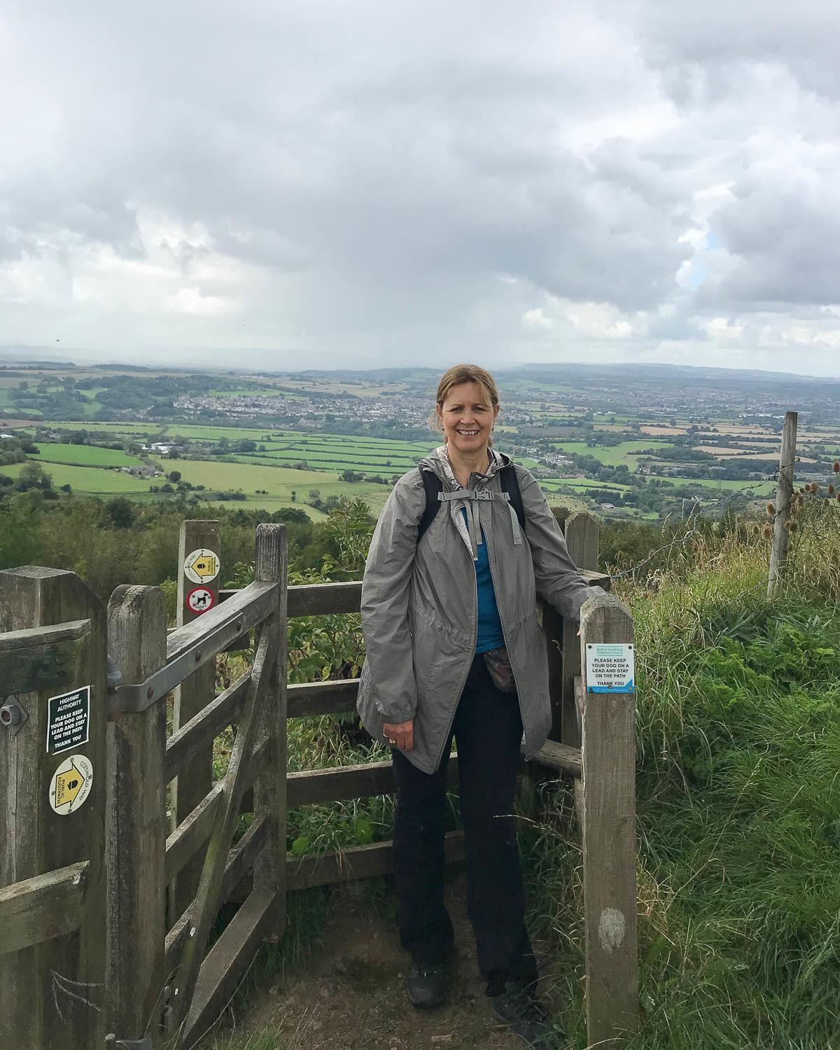 View from Lansdown Bath - Cotswold Way Day 1 Photo Heatheronhertravels.com