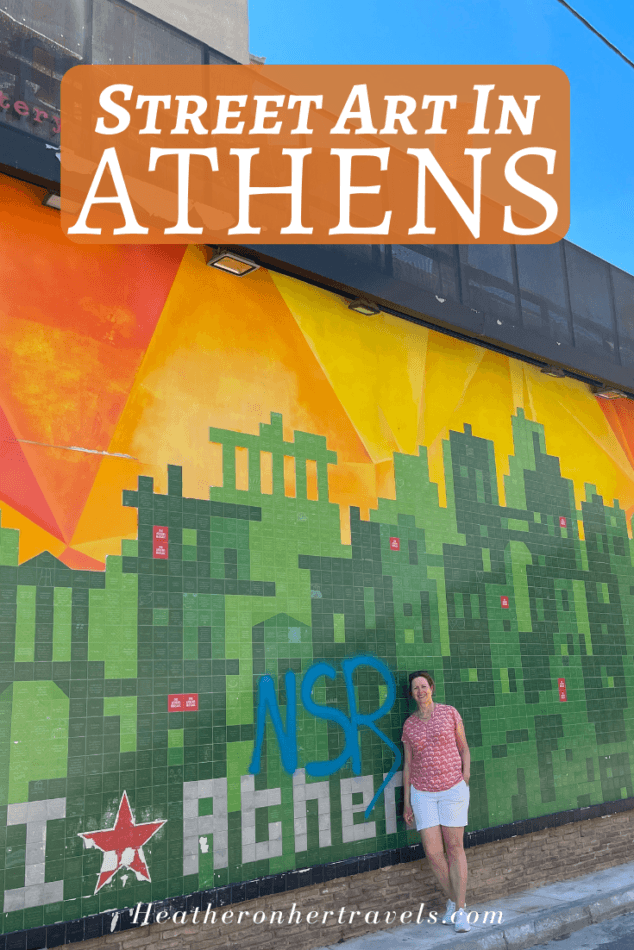 Athens Street Art by Heatheronhertravels.com