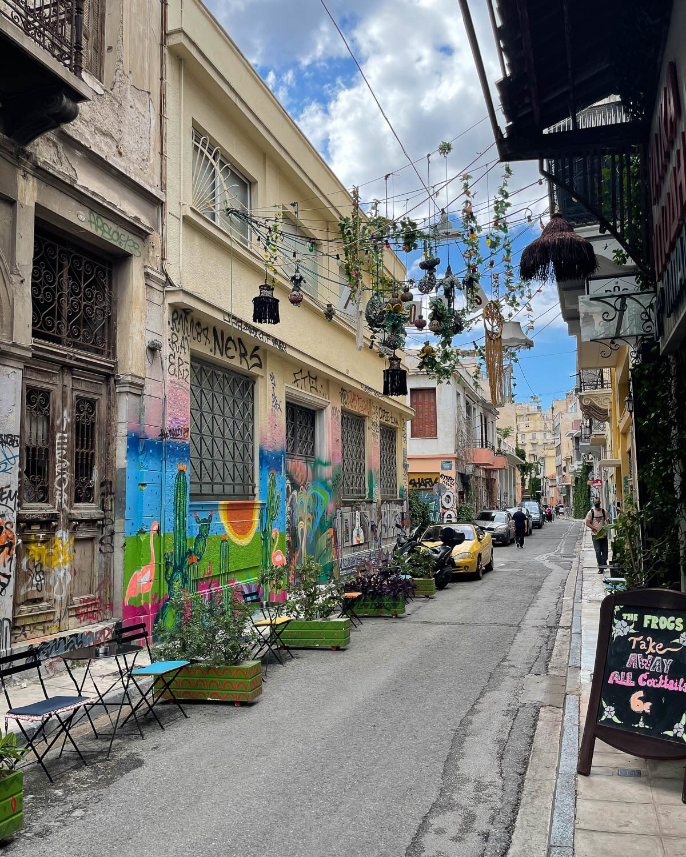 Psiri in Athens Photo Heatheronhertravelscom