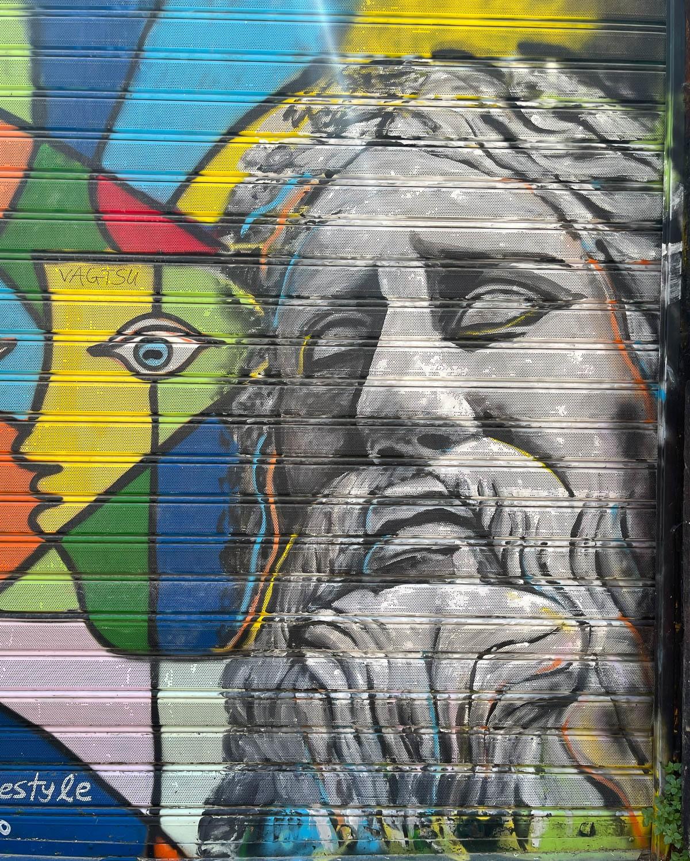 Street art in Psiri Riga Palamidou Athens Photo Heatheronhertravels.com